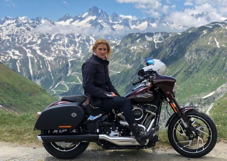 Vanessa Ruck Harley Davidson
