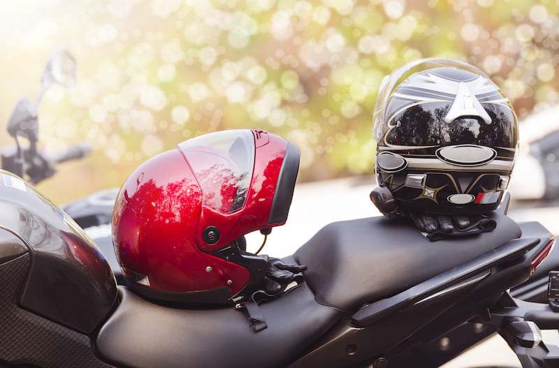 No passengers on beginner motorcycle