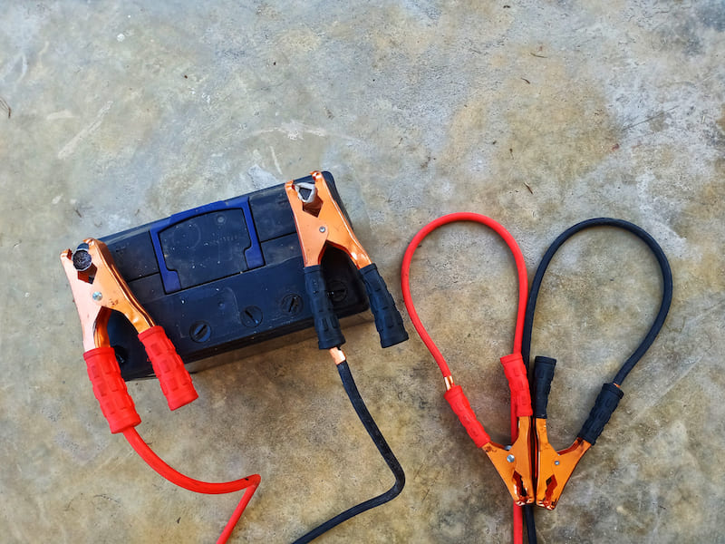 Portable jump start box