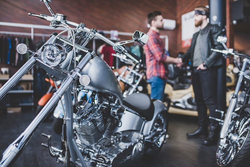 Renting motorcycles