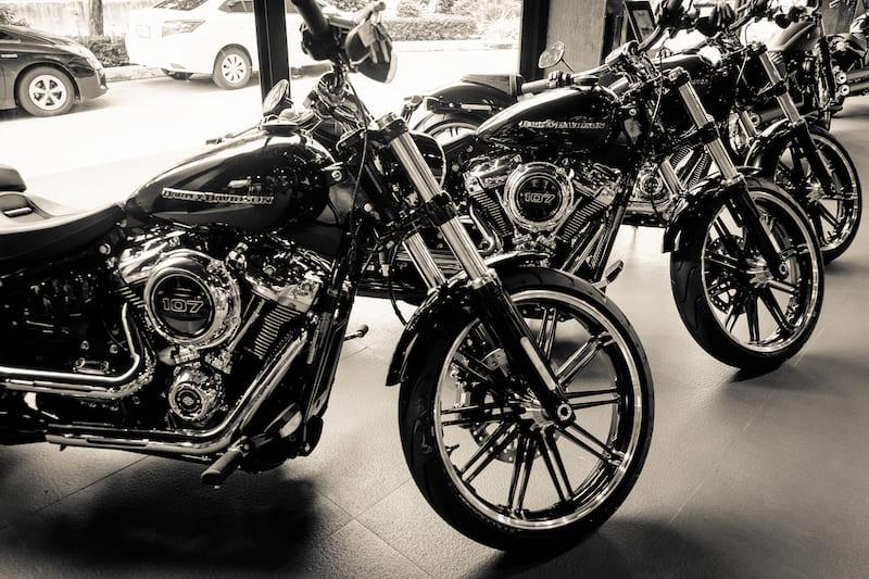 New motorcycle depreciation