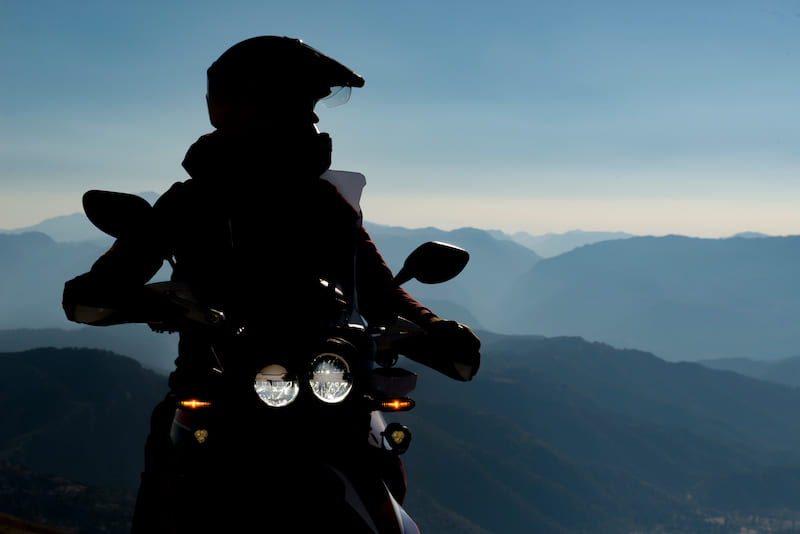 Tips for riding a motorcycle long distances