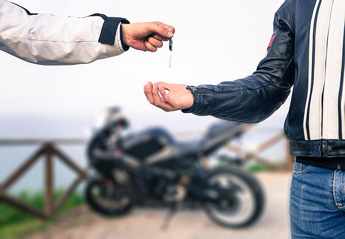 Watch out for online scams when you want to buy a motorcycle