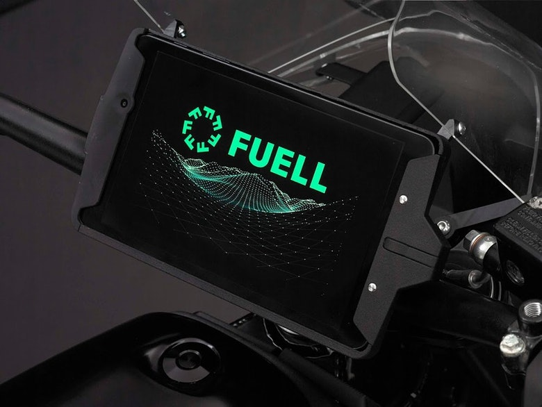 FUELL Flow Tablet Display | Photo Source: RevZilla