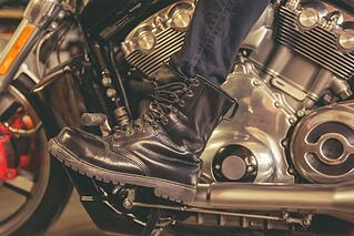 Motorcycle boots and advice for new motorcycle riders.