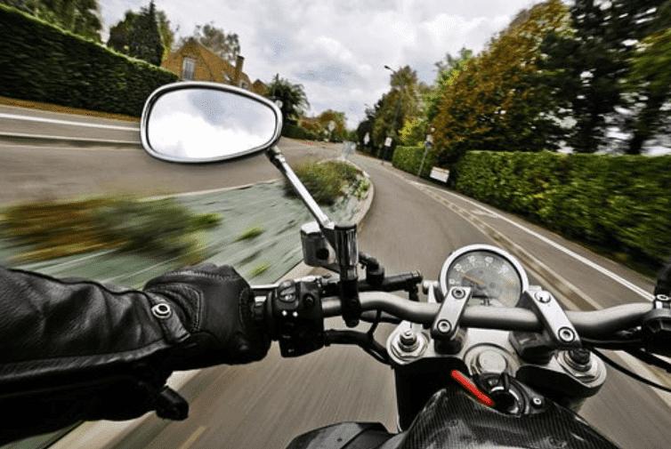 motrocycle review mirror
