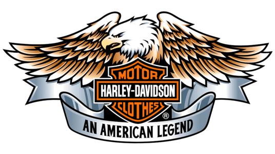 Old Harley Eagle Logo