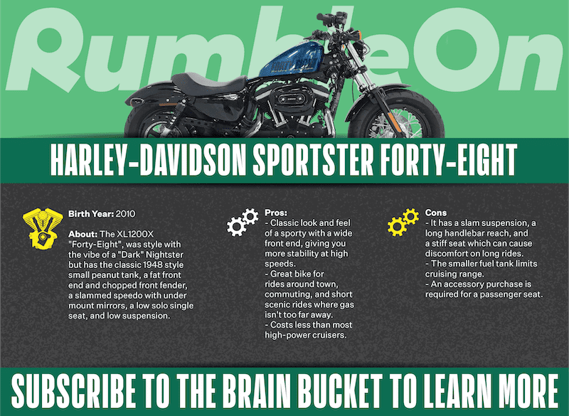 Pros And Cons Of The Harley Davidson Sportster Forty Eight
