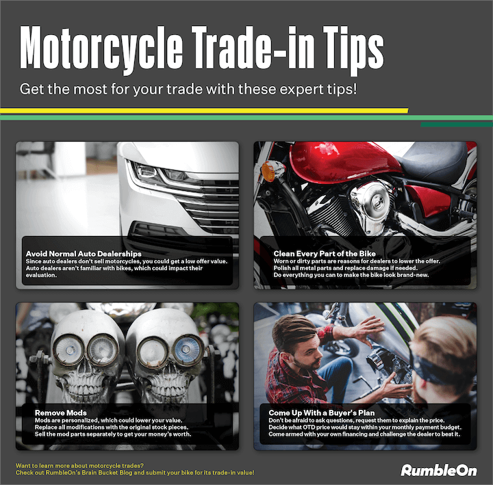 Tips to Trade in a Motorcycle