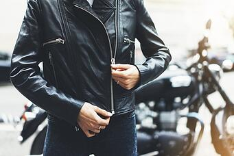 Motorcycle jackets and advice for new motorcycle riders.
