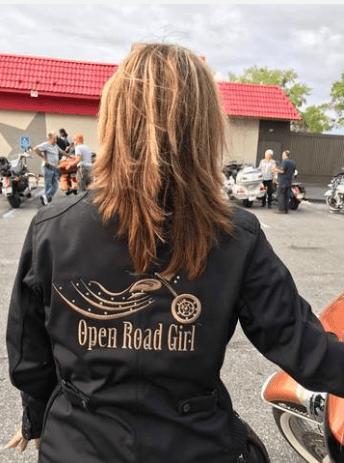 open road girls bombshell jacket