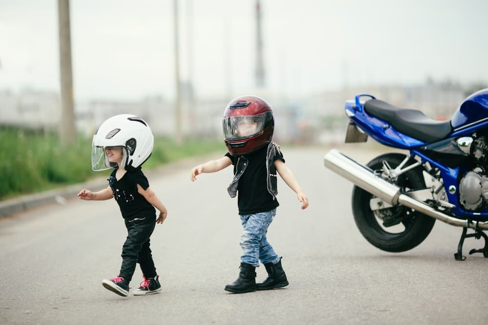 Kids and motorcycles. Do they mix?