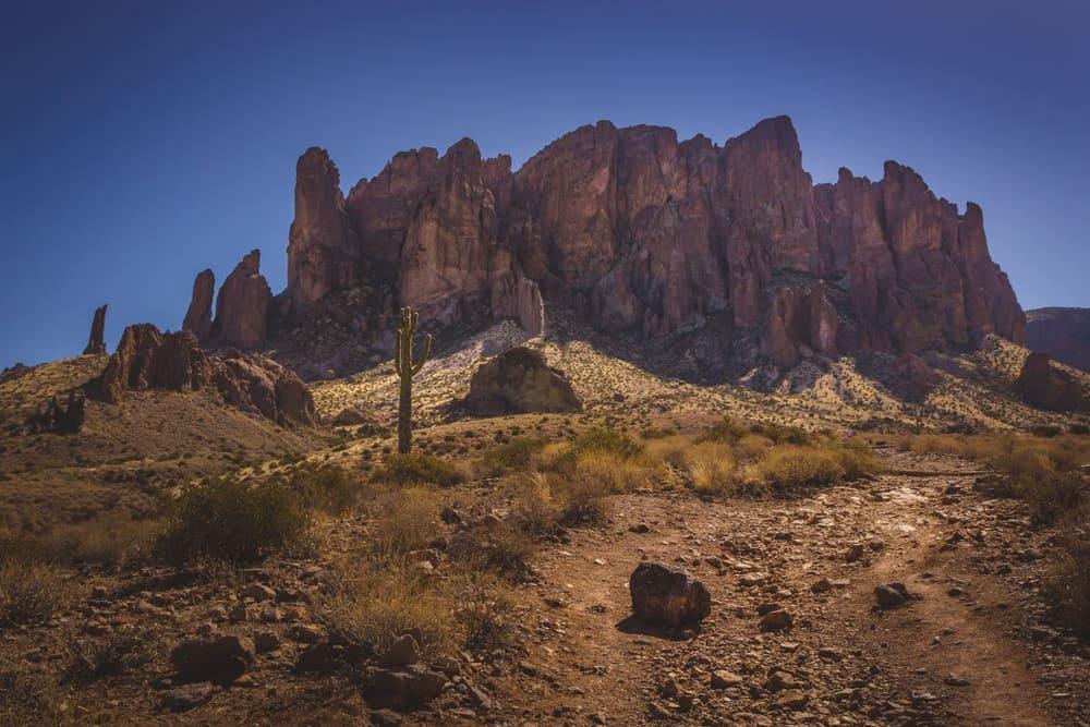 Haunted Places Near Me: Haunted Lost Dutchman Mine in Arizona