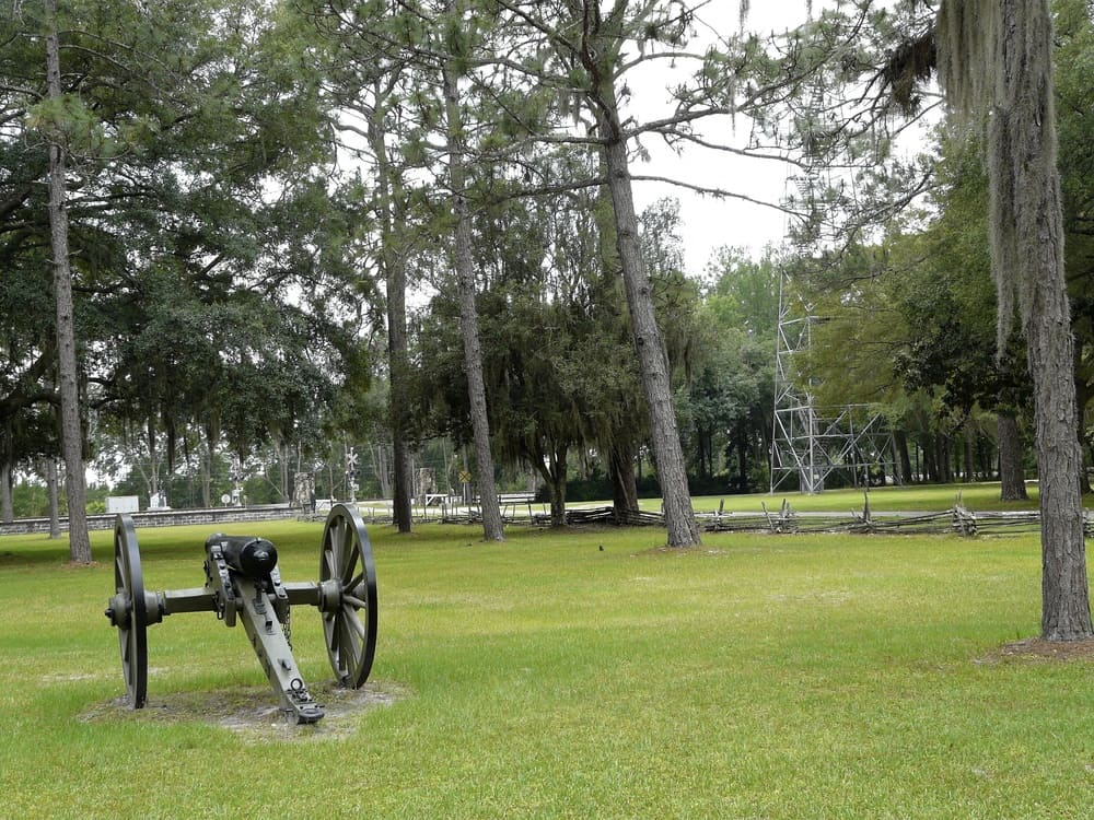 Haunted Places Near Me: Haunted Olustee Battlefield in Florida