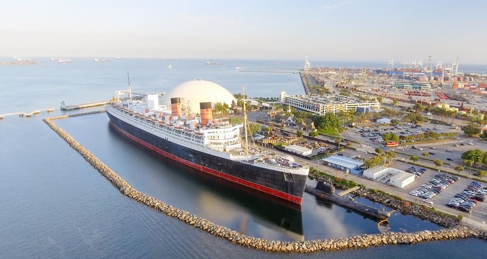 Haunted Places Near Me: Haunted RMS Queen Mary in Long Beach