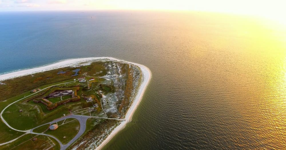 Haunted Places Near Me: Haunted Fort Morgan in Alabama