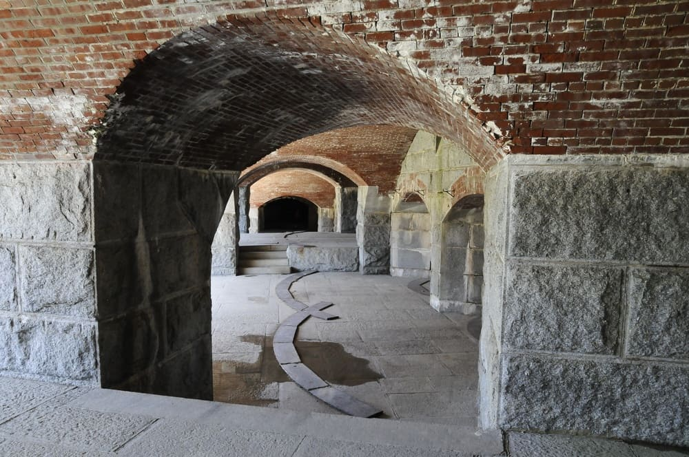 Haunted Places Near Me: Fort Knox in Maine