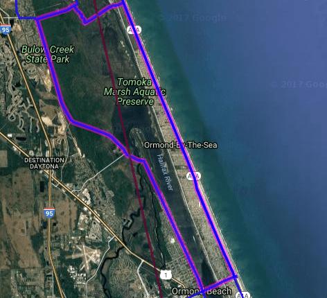 Best motorcycle road in Florida - The Loop - Ormond