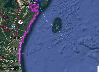Best bike routes in New Hampshire - Portsmouth - Salisbury
