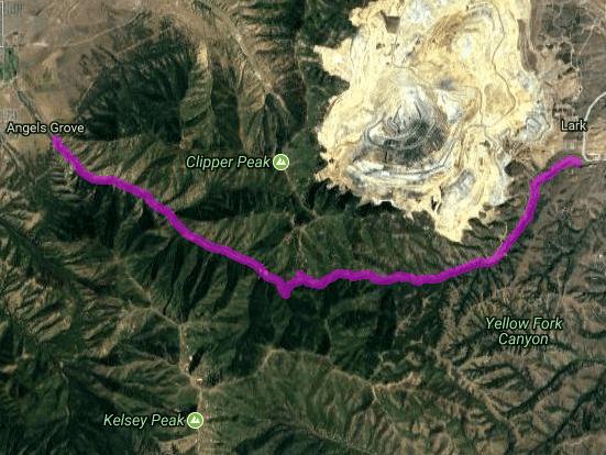 Best motorcycle route in Utah - Lark - Tooele
