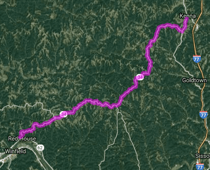 Best motorcycle ride in West Virginia - Redhouse - Confidence - Kenna