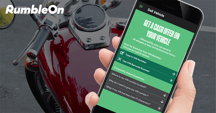 FAQ: How to Trade a Motorcycle Online With RumbleOn