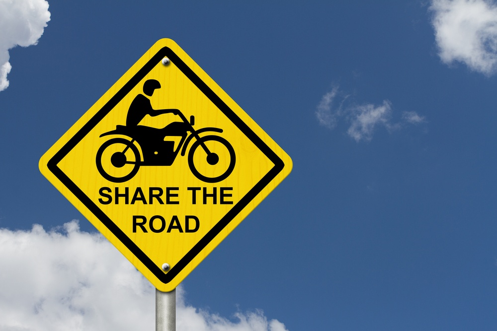 Share the road motorcycle safety.