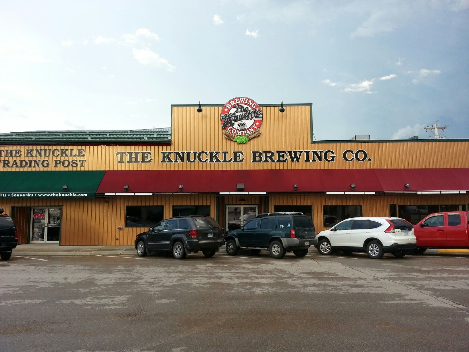 The Knuckle Saloon and the Knuckle Brewing Company, Sturgis, South Dakota