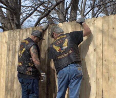 veteran fence project dallas
