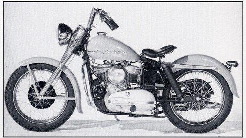 1953 Harley K Model Motorcycle