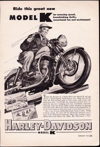 Harley Davidson Model K