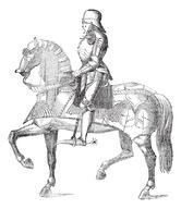 The midieval knight could have been the origin of the military salute.