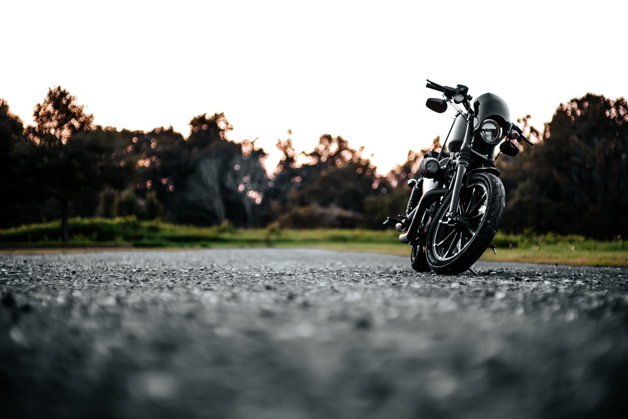 Harley Davidson Iron 883 front