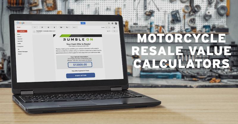 Motorcycle Resale Value Calculators