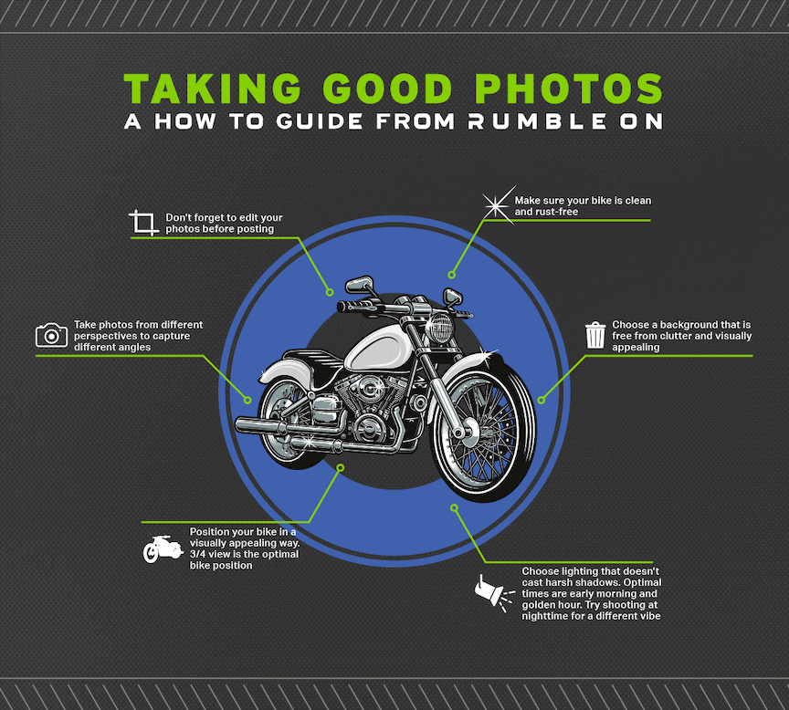 Motorcycle photography tips for good pictures of motorcycles