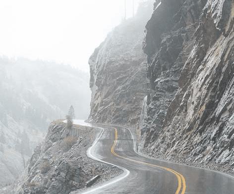 highway 550 in colorado
