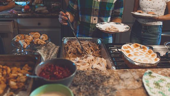 Holiday food and