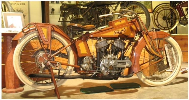 Traub Motorcycle at Wheels Through Time