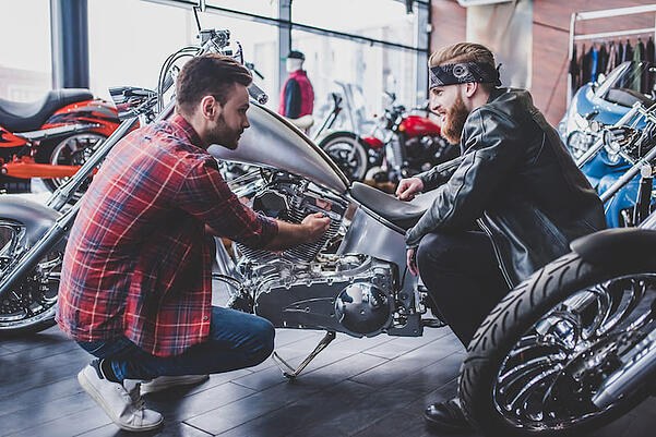 selling motorcycle