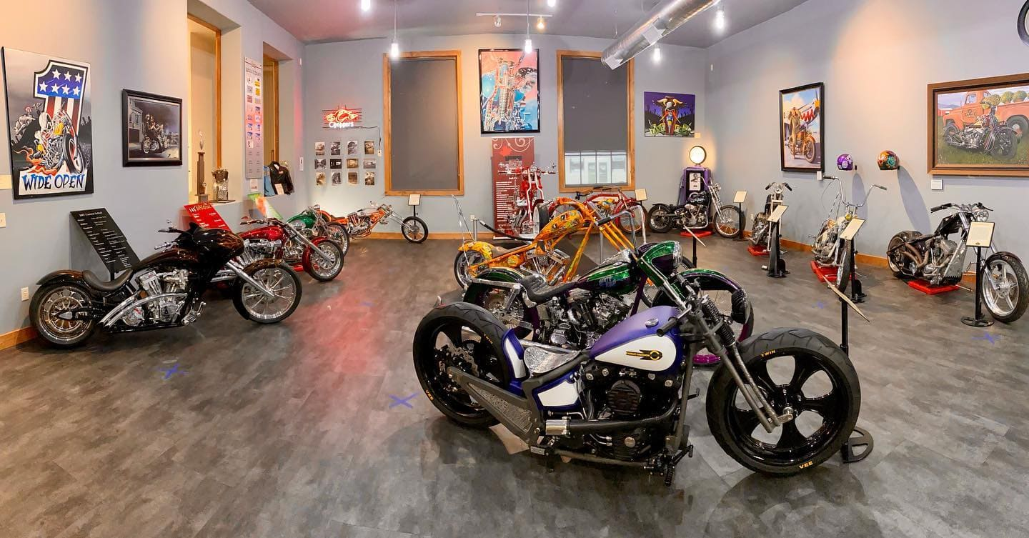 sturgis motorcycle museum and halal of fame